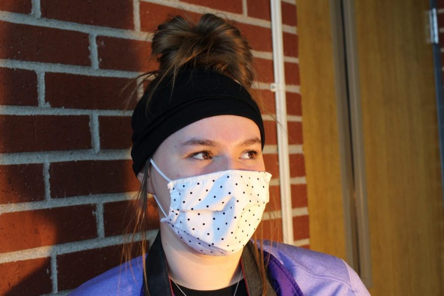 Student, Kaitlyn Owens, discusses her thoughts on school stress.