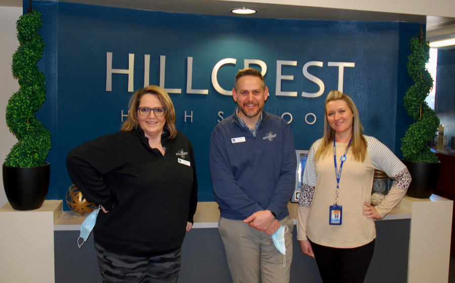 Dr. Kroll, principal of Hillcrest High School, discusses a typical day's ups and downs.