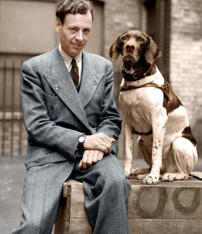 No Better Friend: The Story of a Man and Dog and their journey through World War II