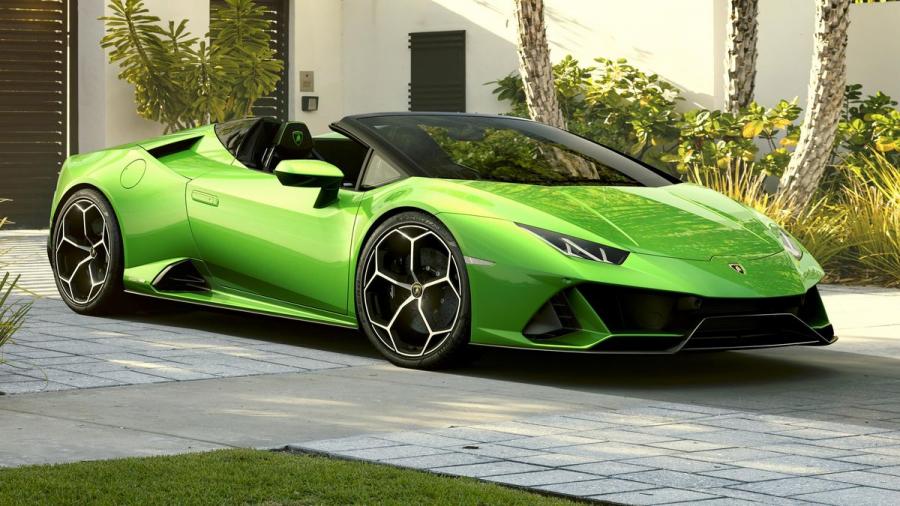 The Lamborghini Huracán Evo